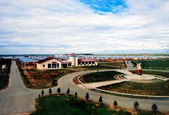 中国达斡尔族第一村 梅里斯哈拉新村