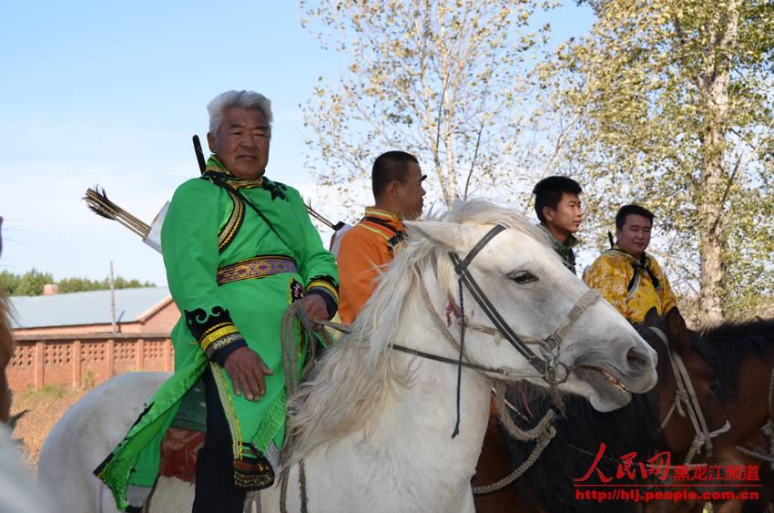 马背上的民族 鄂伦春族 杨海全 摄