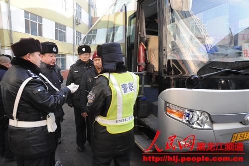 哈尔滨交警部门多举措力保春运安全