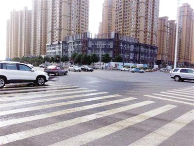 没有交通信号灯的路口