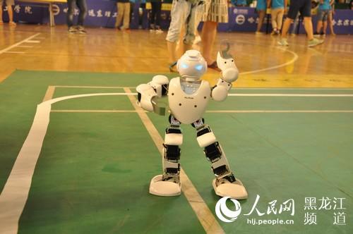 第四屆全國機器人創意設計大賽在哈爾濱開賽