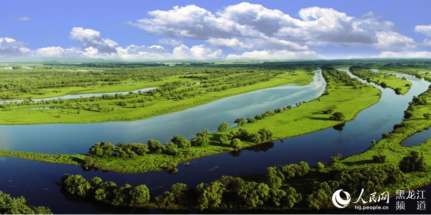 珍宝岛湿地自然保护区位於黑龙江省虎林市东部完达山南麓,以乌苏里