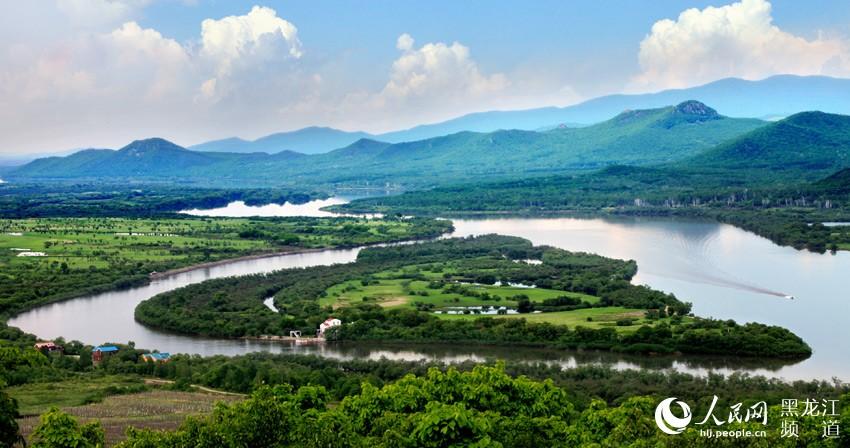 珍宝岛湿地自然保护区风光