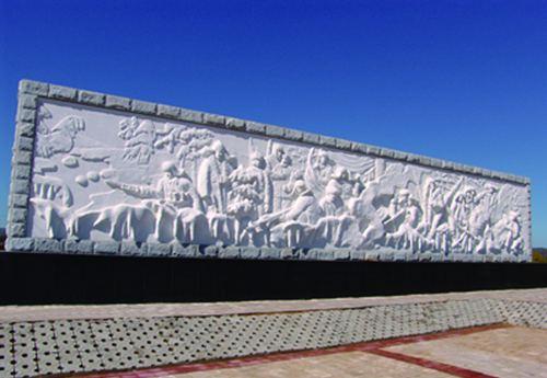 东北抗日联军三路军三支队烈士纪念碑--黑龙江频道