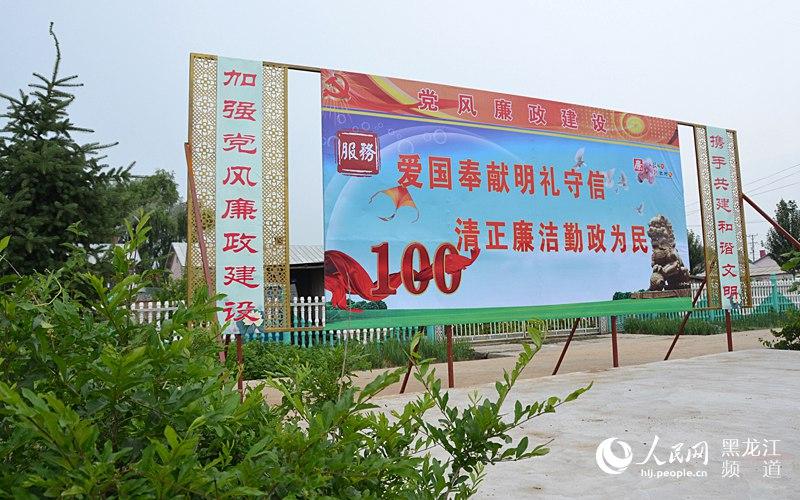 """美丽哈尔滨乡村行:走进""""国家级文明村""""木兰县柳河镇烧"""