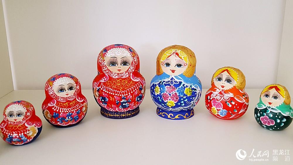 尚志一面坡套娃产业成木制品工艺新亮点 年销售收入3亿元