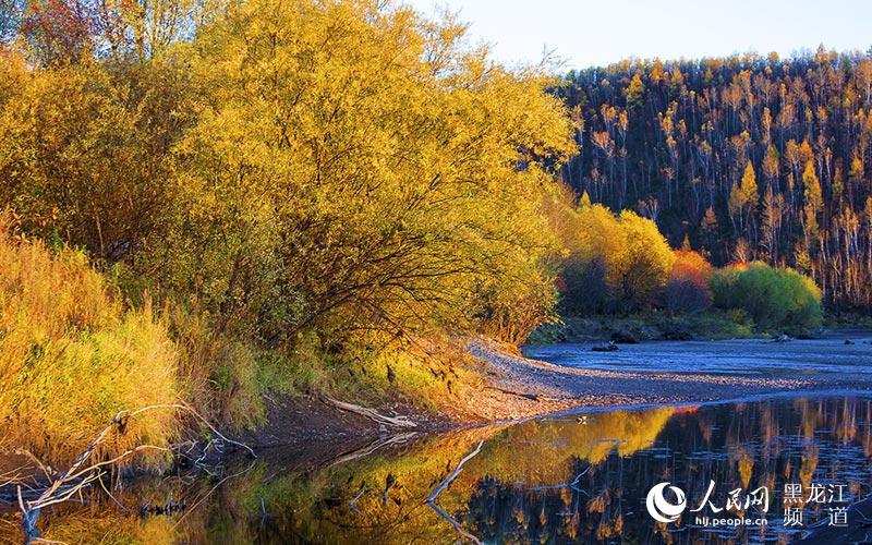 随手拍·秋天:兴安晚秋 靓丽的风景--黑龙江频道--网