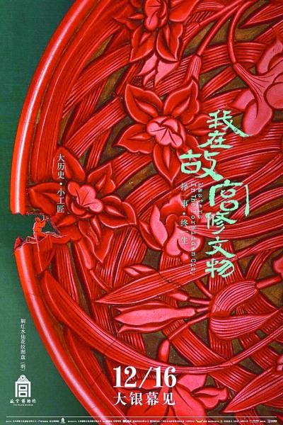 《我在故宫修文物》电影版海报资料图片