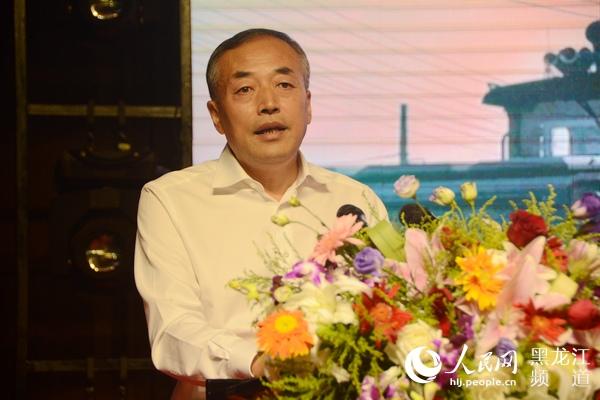 七台河市副市长杨子义介绍七台河