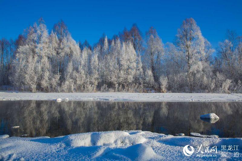 """极寒来袭 """"中国最冷小镇""""大兴安岭呼中最低温度达到-37℃"""