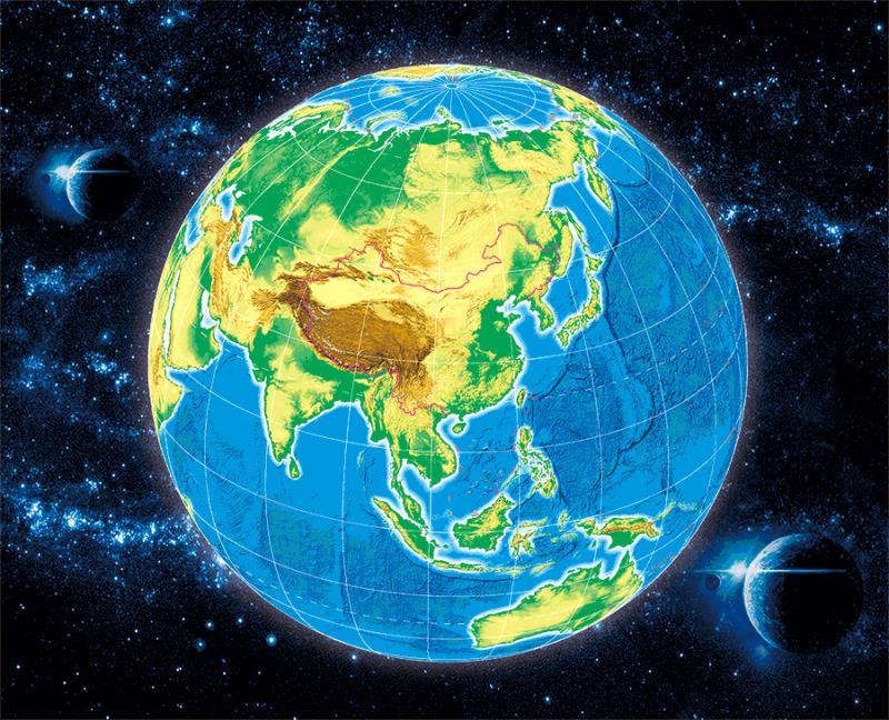 国内首部3D中国地图集出版发行【2】