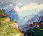 当代俄罗斯油画大师展在哈展出