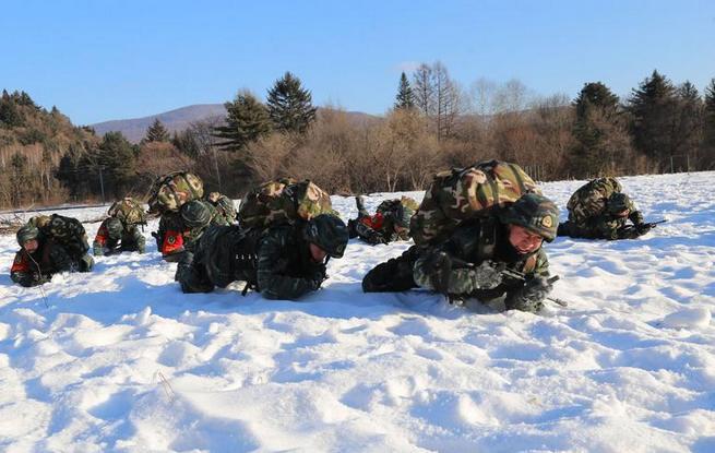 武警黑龙江省总队开展集训加快特战力量建设