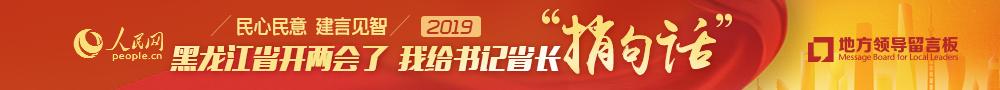 """2019黑龙江两会—我给书记省长""""稍句话"""""""