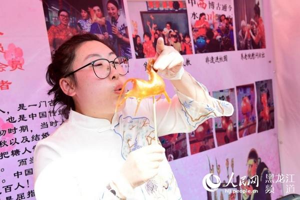 哈尔滨市南岗区举行第二届民俗文化旅游大集让群众感受传统文化魅力