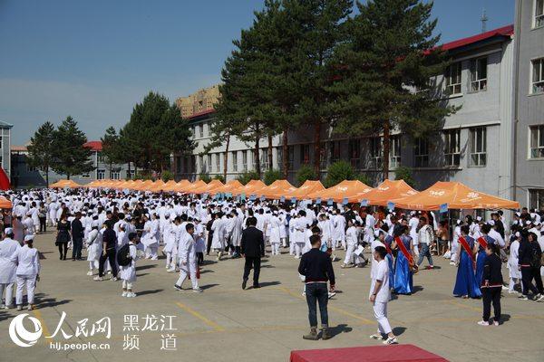 200多家单位集聚黑龙江省林业卫校为毕业生提供6000余岗位