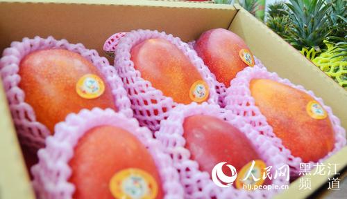 """台湾水果""""香溢""""中俄博览会两岸企业搭乘优质贸易平台"""