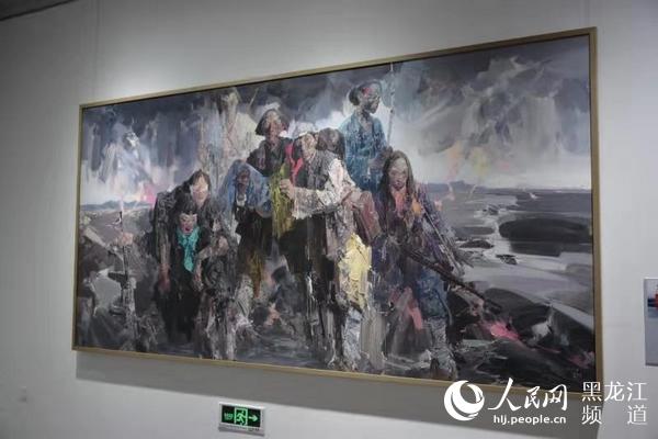 47件良好作品入选黑龙江省重大历史题材美术创作工程作品展