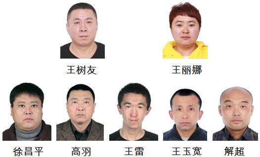 哈尔滨市警方征集关于王树友、王丽娜等人涉黑涉恶犯罪团伙违法犯罪线索