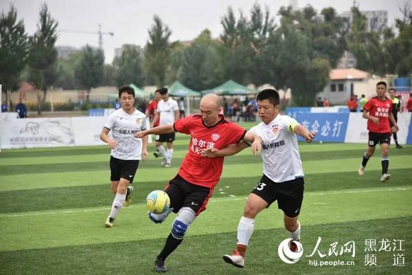 黑��江省第三�萌�民健身�\���五人制足球比�落幕海林代表��s�@冠�