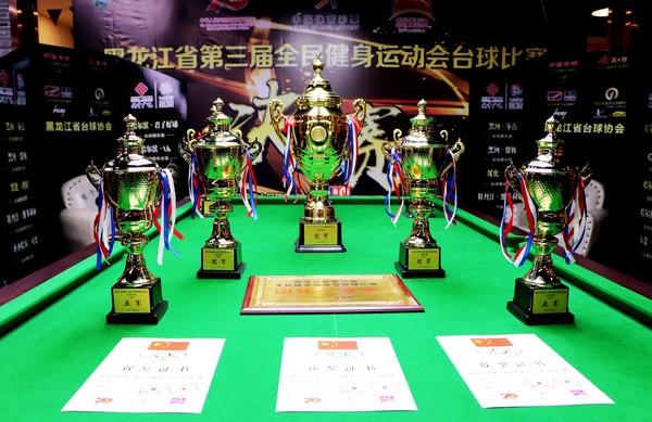 黑龙江省第三届全民健身运动会台球比赛收官 推动全民健身和全民健康深度融合
