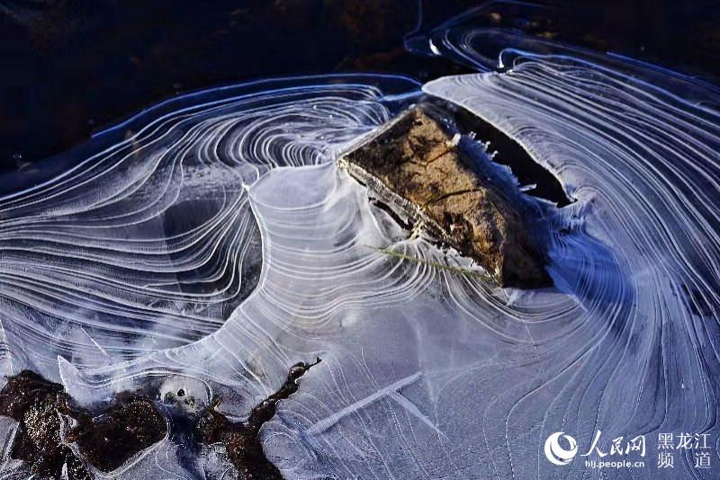 """""""中国最美小镇""""大兴安岭韩家园现""""冬日冰河""""景观【4】"""