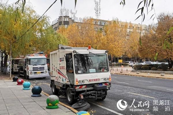 哈尔滨市近期气温频繁波动局地有小到中雨或雨夹雪天气
