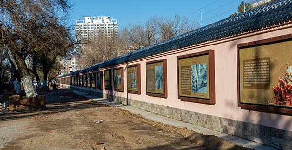 齐齐哈尔建华区投资200万建设齐齐哈尔市国防教育一条街