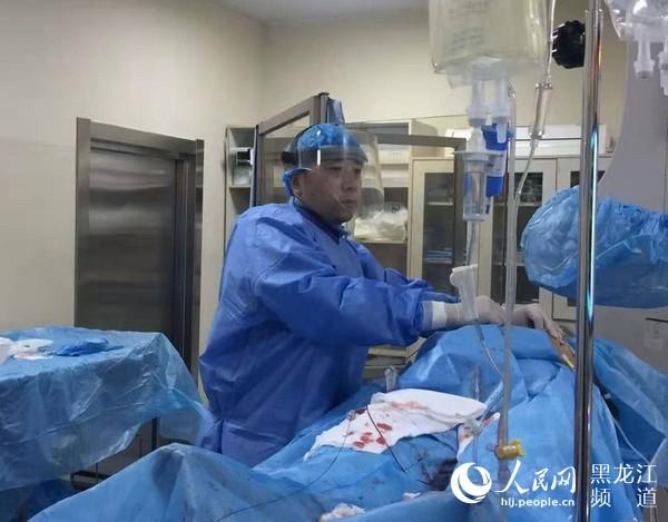 17次心肺复苏黑龙江省医院成功救