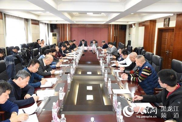 黑龙江省市场监管局召开民营企业