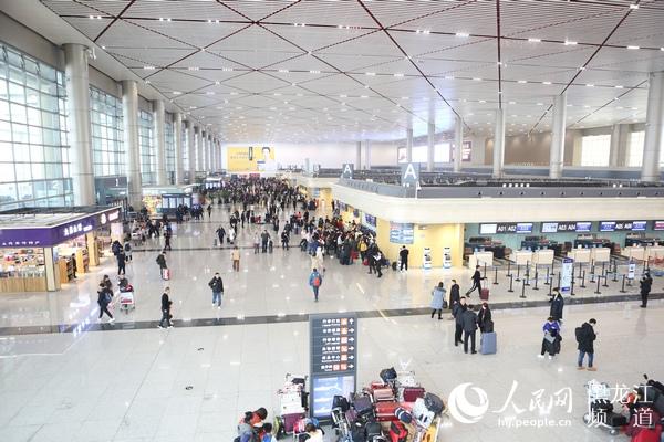 哈尔滨机场2019年完成旅客吞吐量2077万人次同比增长1.7%