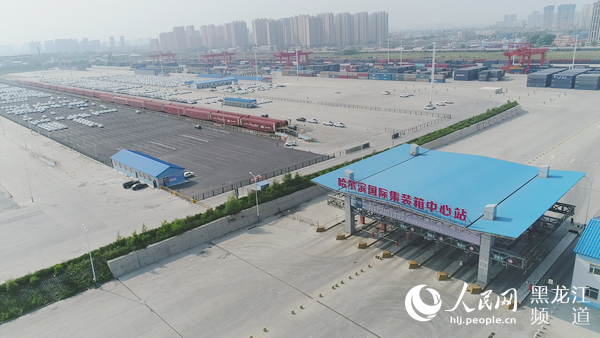哈铁运输商品汽车2.6万辆助力龙江汽车行业回暖