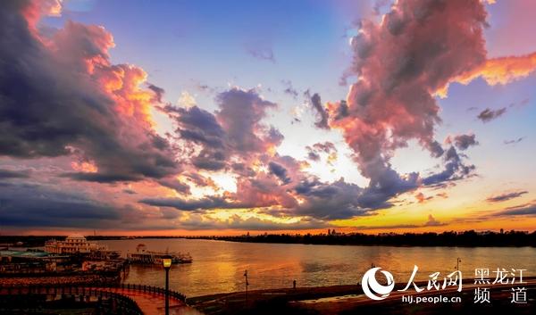 哈尔滨市气温先升后降7月3日后有一次大范围降雨天气